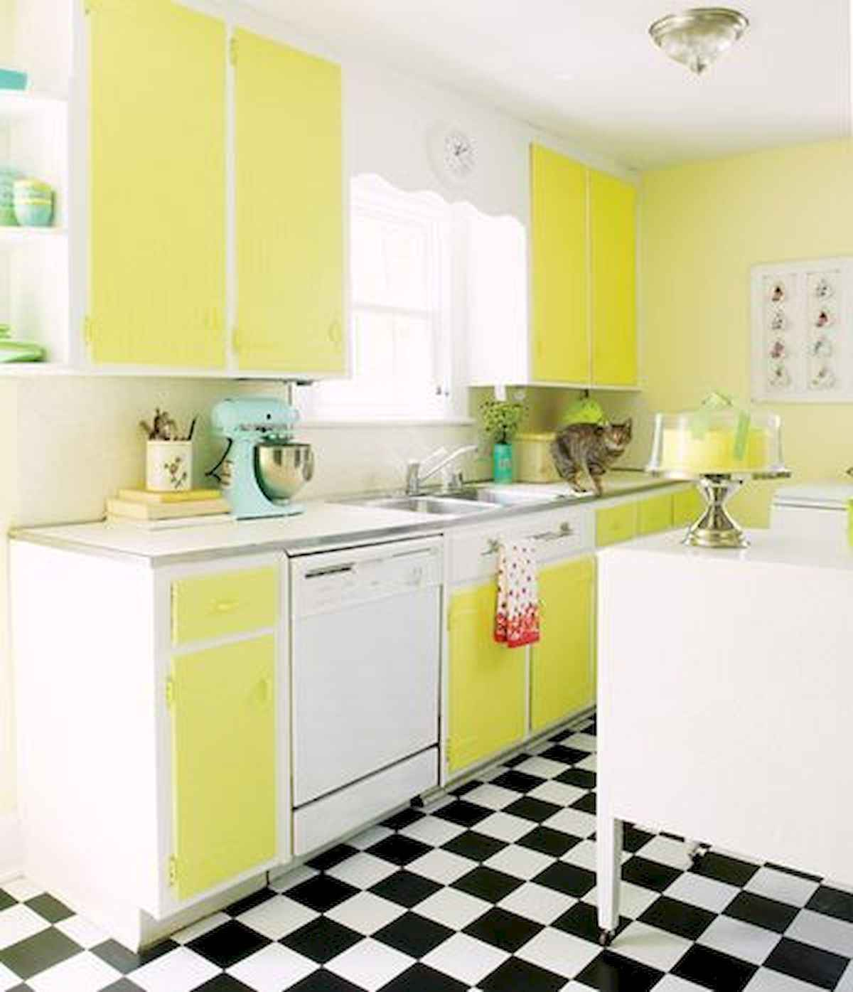 60 Lovely Painted Kitchen Cabinets Two Tone Design Ideas