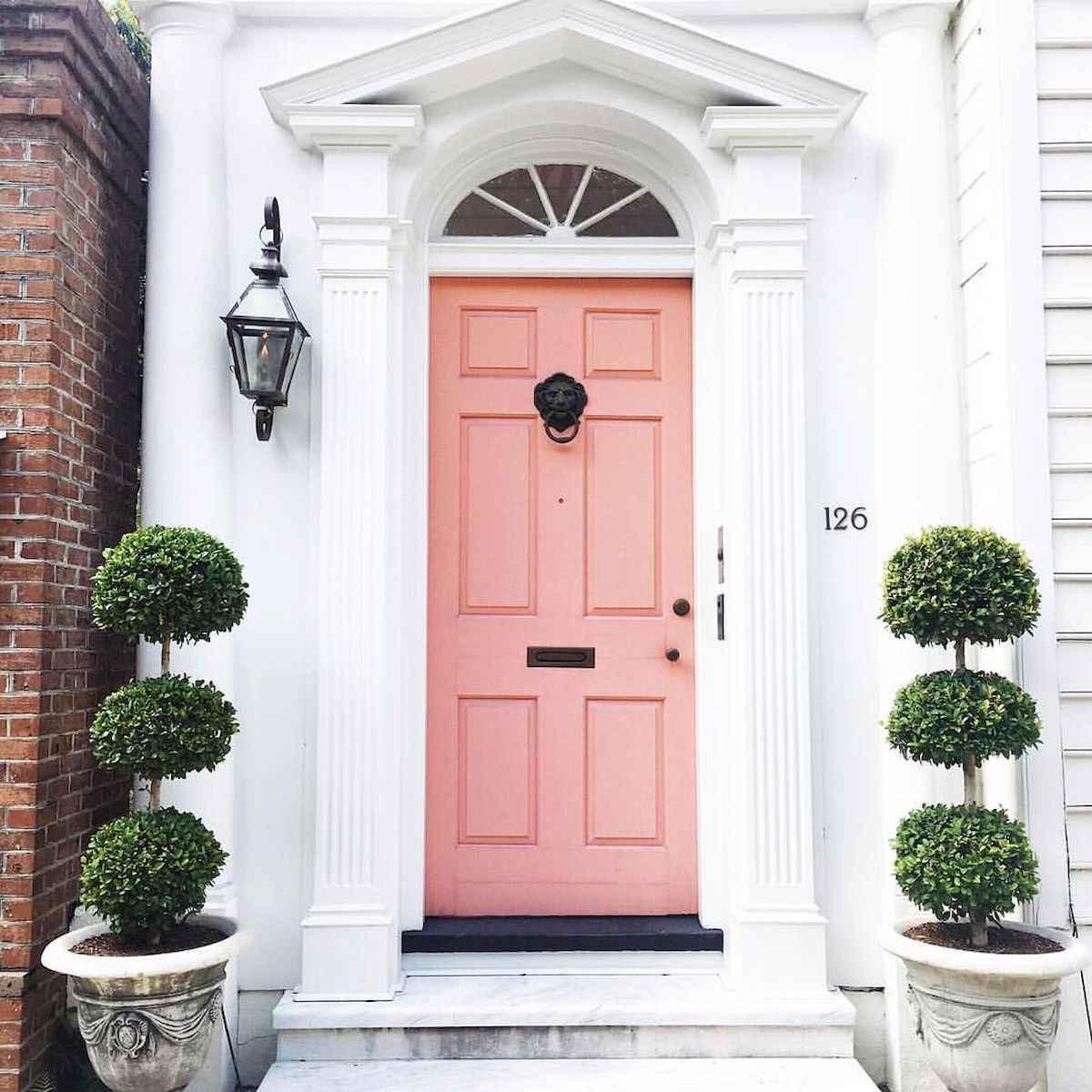 100 Unique Front Doors Colors Design Ideas (25)