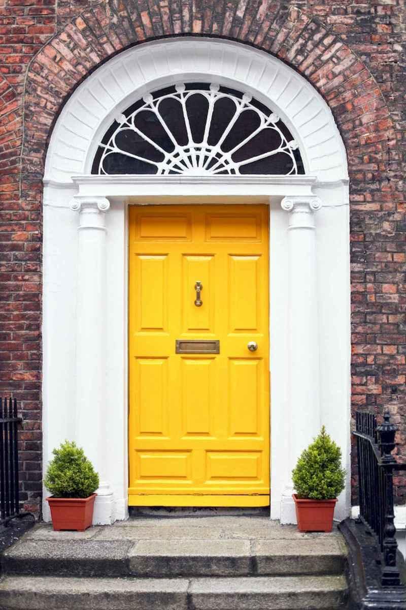 100 Unique Front Doors Colors Design Ideas (35)
