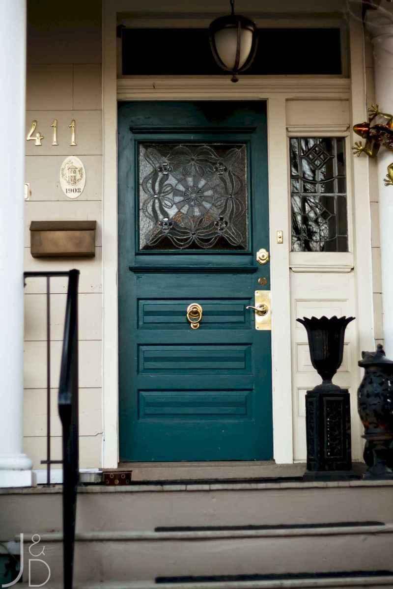 100 Unique Front Doors Colors Design Ideas (41)