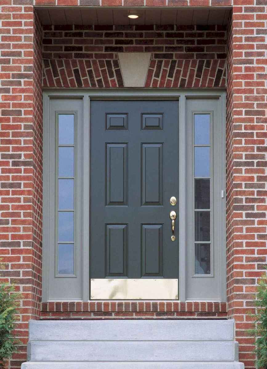 100 Unique Front Doors Colors Design Ideas (56)