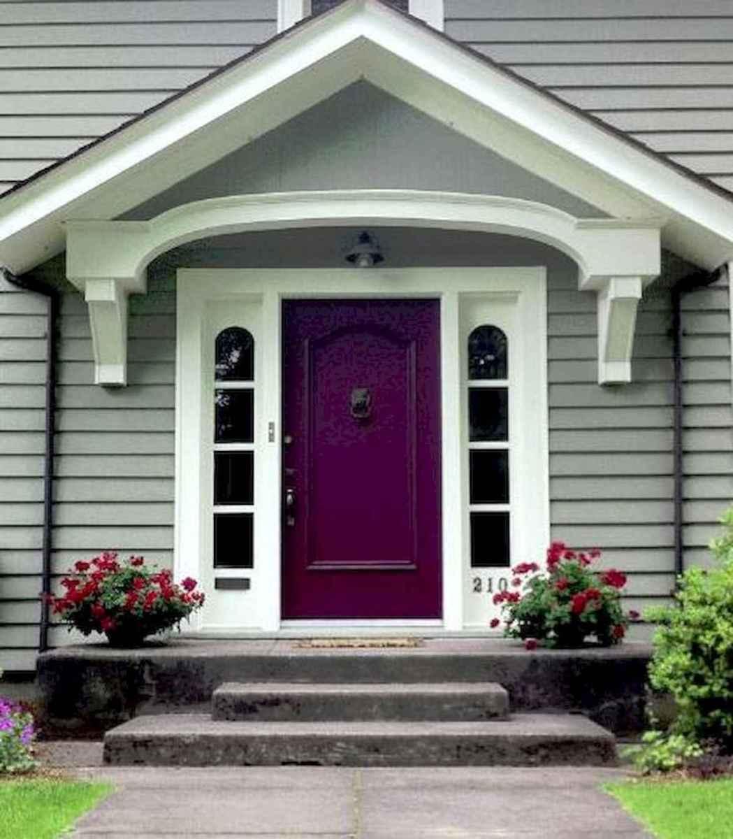 100 Unique Front Doors Colors Design Ideas (77)
