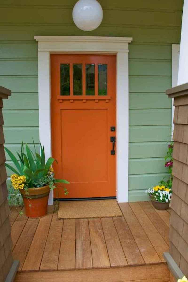 100 Unique Front Doors Colors Design Ideas (88)