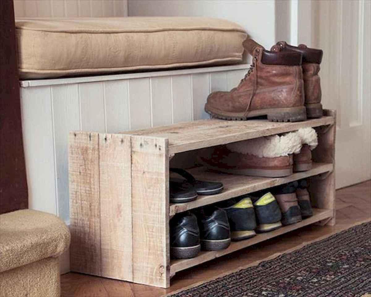 55 Genius Shoes Rack Design Ideas (16)
