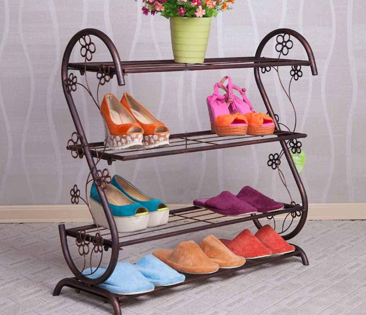 55 Genius Shoes Rack Design Ideas (41)