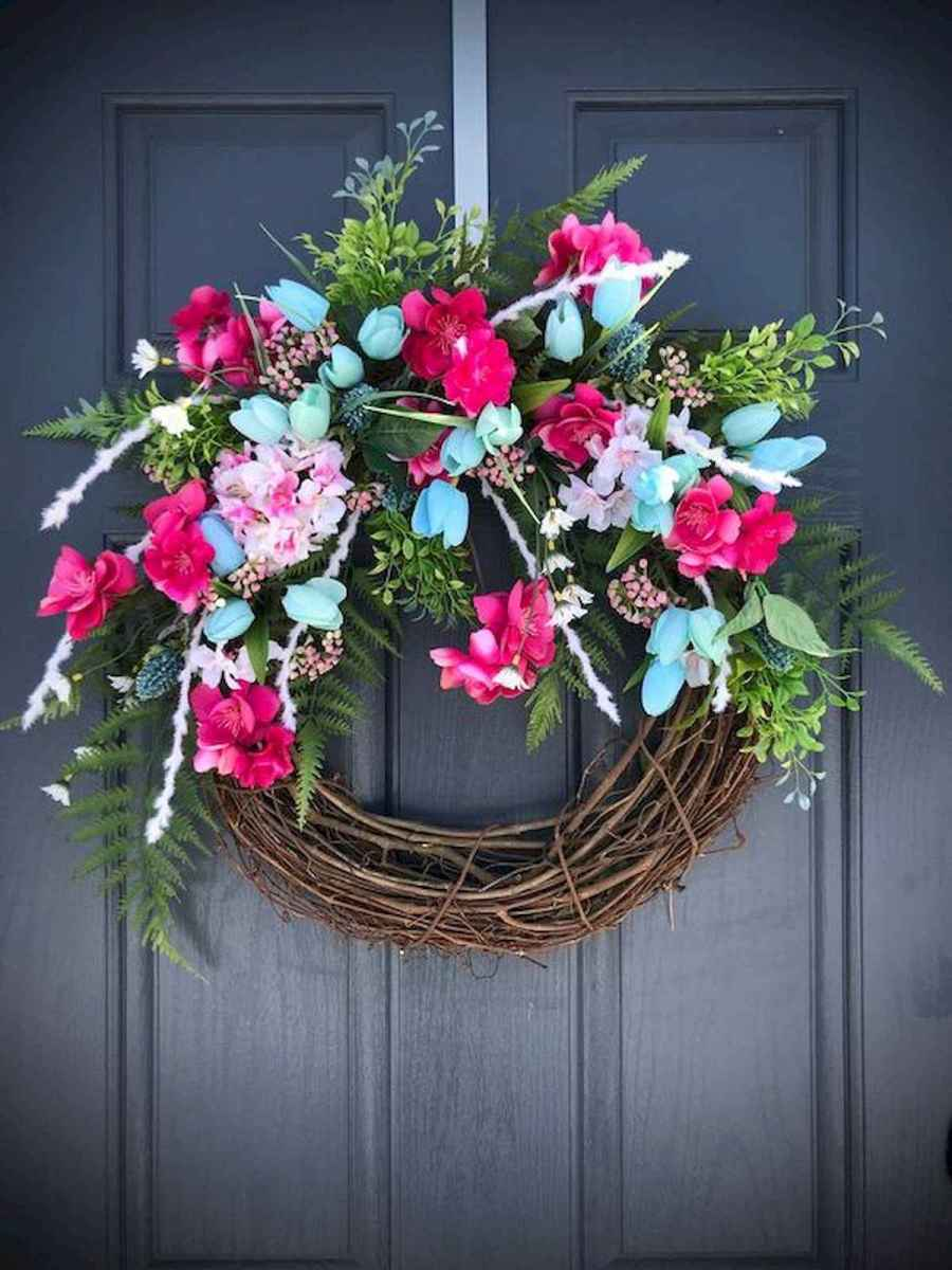 60 Lovely Summer Wreath Design Ideas and Remodel (11)