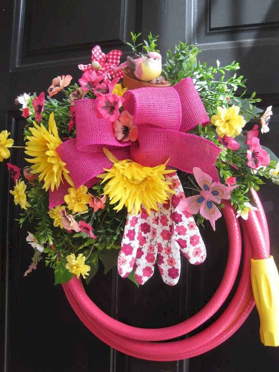 60 Lovely Summer Wreath Design Ideas and Remodel (12)