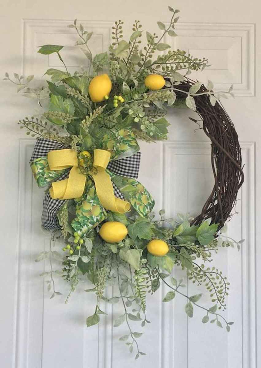 60 Lovely Summer Wreath Design Ideas and Remodel (18)