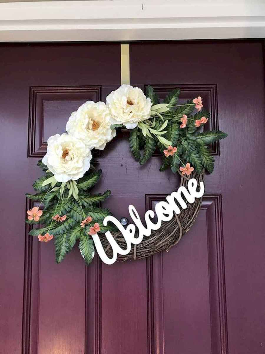 60 Lovely Summer Wreath Design Ideas and Remodel (2)