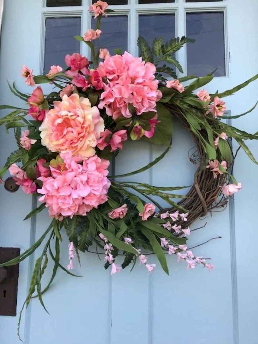 60 Lovely Summer Wreath Design Ideas and Remodel (20)