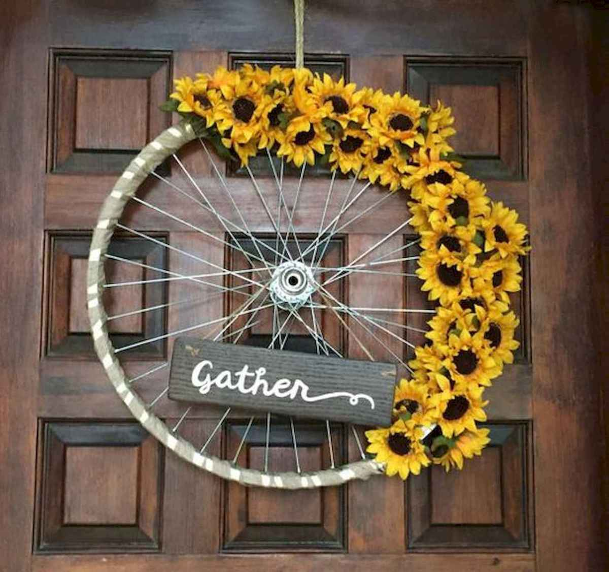 60 Lovely Summer Wreath Design Ideas and Remodel (32)