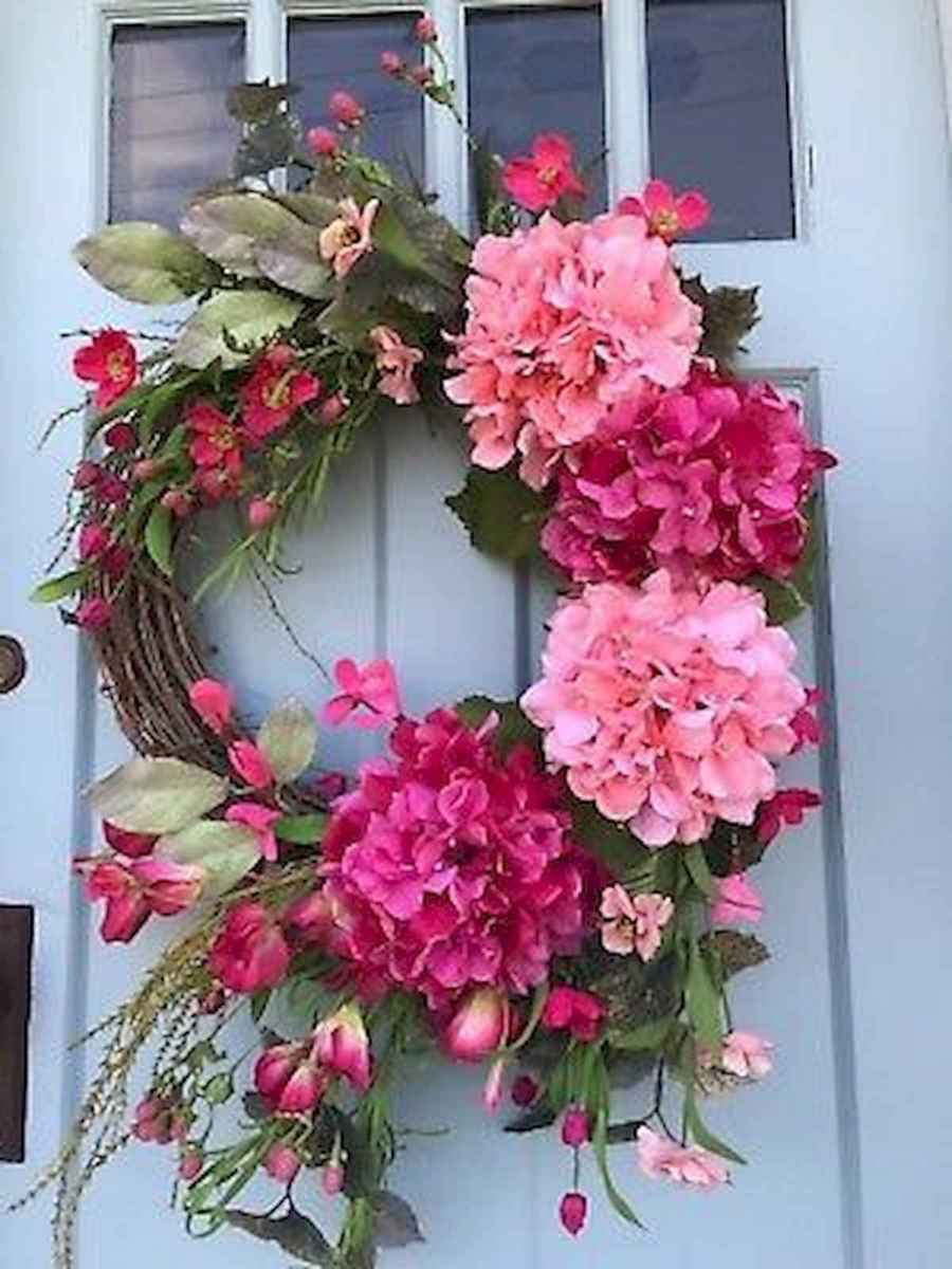 60 Lovely Summer Wreath Design Ideas and Remodel (37)