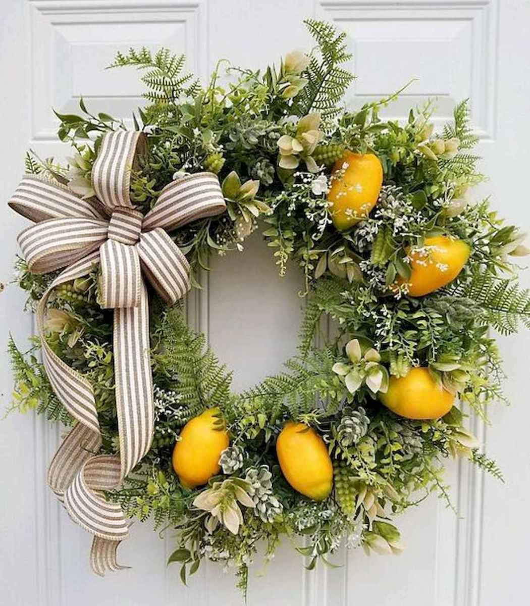 60 Lovely Summer Wreath Design Ideas and Remodel (43)