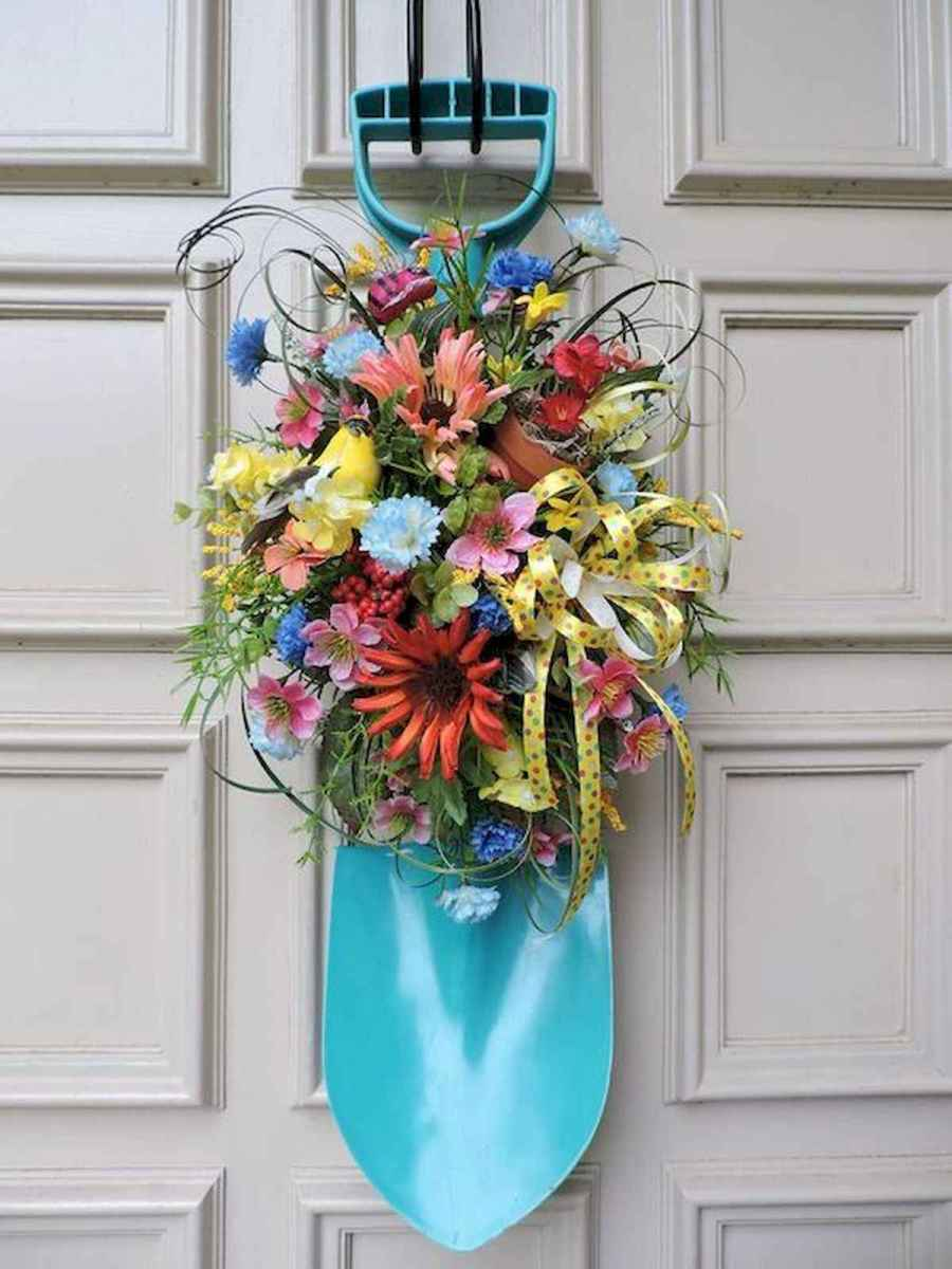 60 Lovely Summer Wreath Design Ideas and Remodel (48)