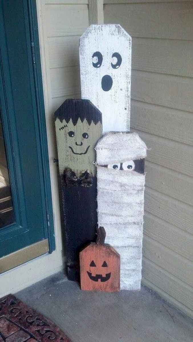 90 Awesome DIY Halloween Decorations Ideas (68)