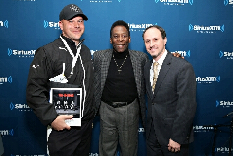 Pele and Coach D!