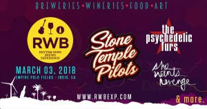 The 7th Annual Rhythm, Wine & Brews Experience @ Empire Polo Club | Indio | California | United States