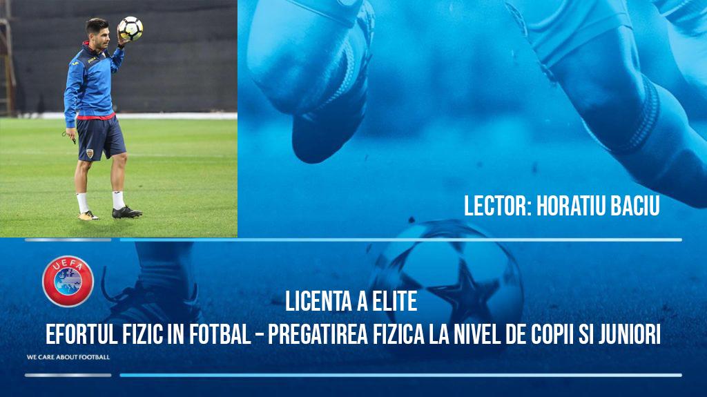 Efortul fizic in fotbal – Pregatirea fizica la nivel de copii si juniori