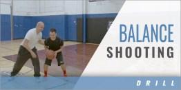 Balance Shooting Drill
