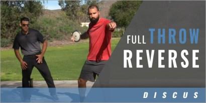 Discus: Full Throw Reverse