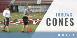 Throws: Cone Drills
