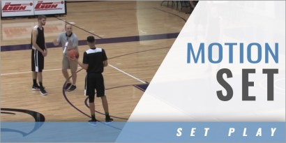 Half Court Sets: Motion