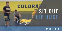 Bottom Position: Sit Out Hip Heist Drill