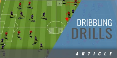 1 v 1 Dribbling Drills