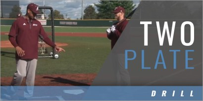 Hitting: Two Plate Drill