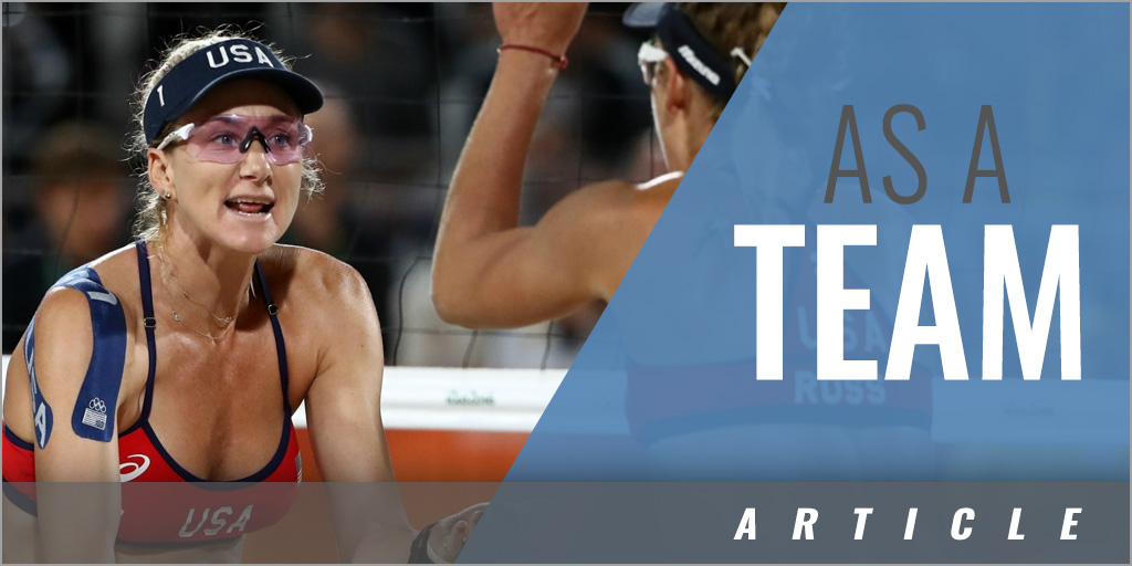 Teamwork - Kerri Walsh-Jennings & Misty May-Treanor