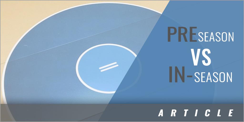 Preseason and In-Season Practice Format