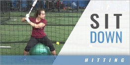 Hitting: Sit Down Drill