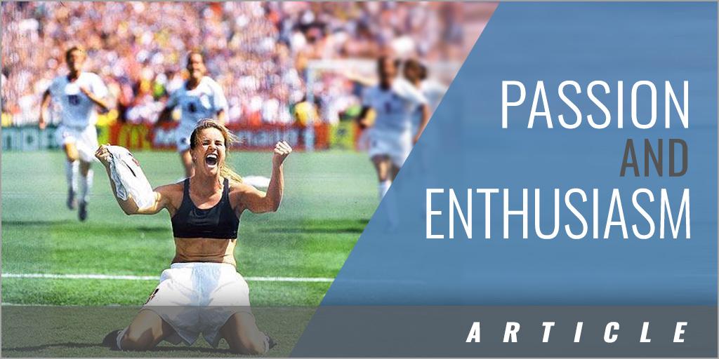 Enthusiasm - Brandi Chastain