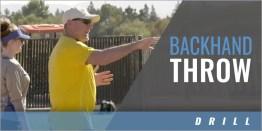 Infielders: Backhand Drill
