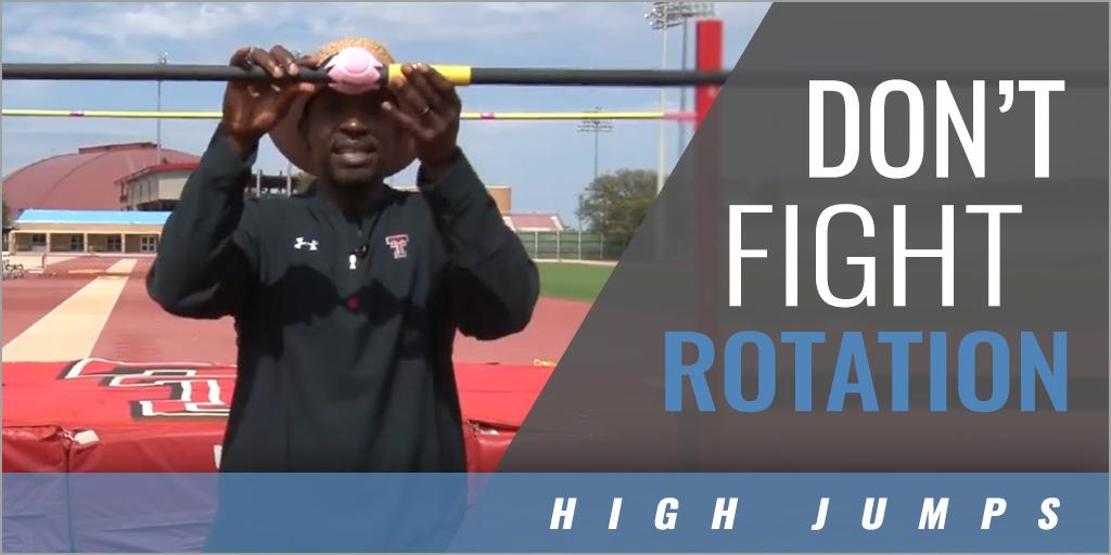 High Jump: How to Improve Rotation