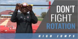 High Jump: How to Improve Rotation