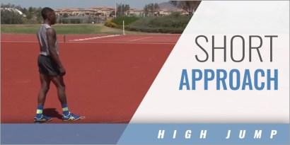 High Jump: Short Approach Drills