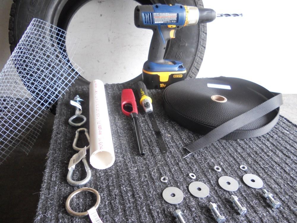 medium resolution of the tire sled