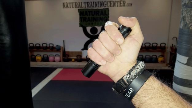 Reverse Grip Flashlight