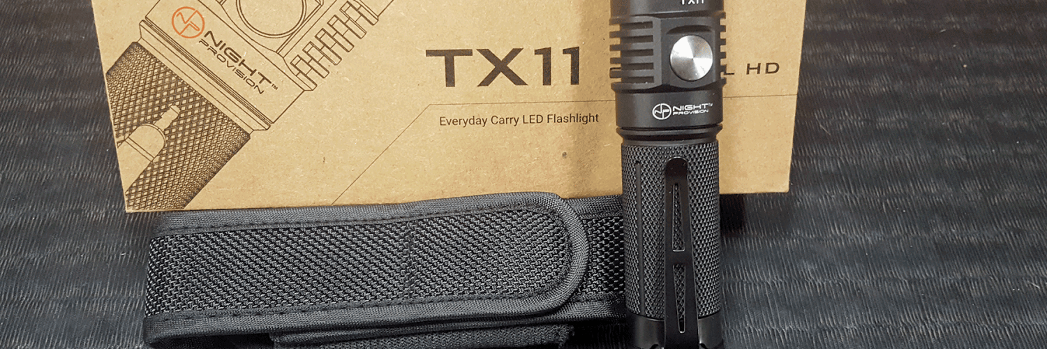TX11 Tactical Flashlight Review