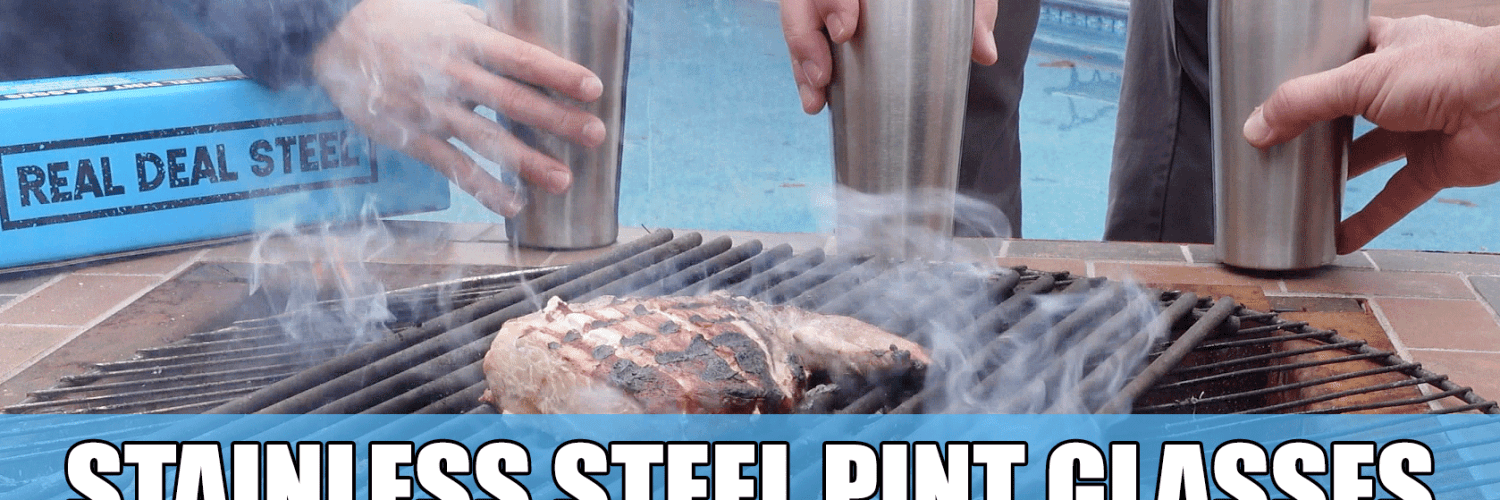 Real Deal Steel Pint Glasses Review