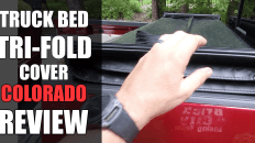 Oedro Tri-Fold Truck Bed Cover Review- Chevy Colorado