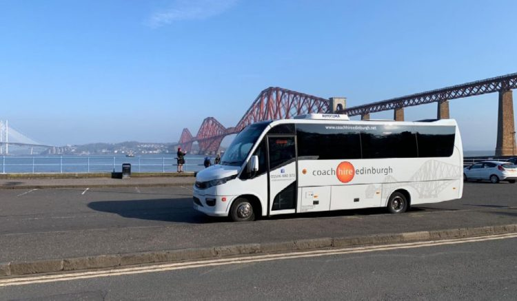Corporate Travel - Coach Hire Edinburgh