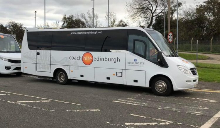 Mercedes 33 - Coach Hire Edinburgh