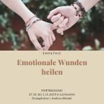 Emotionale Wunden heilen mit Tiefer Empathie
