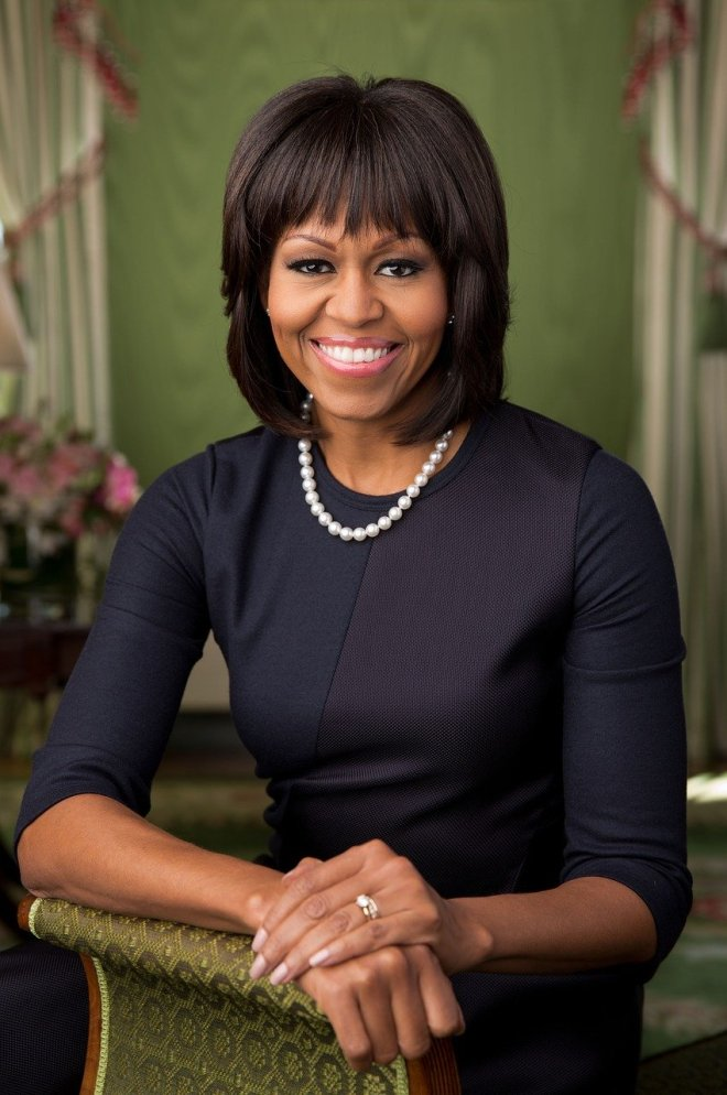 Portraitfoto von Michelle Obama