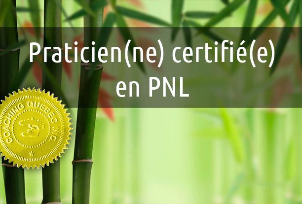Praticien Certifié En PNL