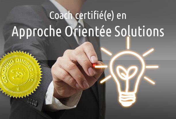 Formation Coach en Approche Orientée Solutions