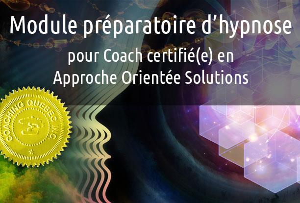 Module préparatoire d'hypnose