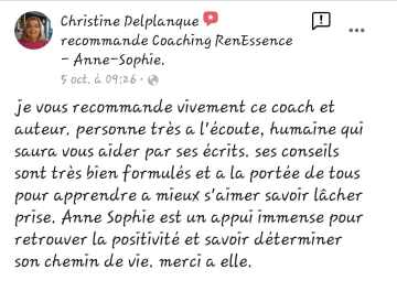 Témoignage Christine